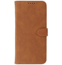 Wallet Cases Hoesje voor iPhone 13 Pro Max Bruin