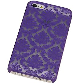 PC Paleis 3D Back Cover for iPhone 5 Paars
