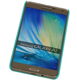 PC Palace 3D Back Cover for Galaxy A7 Green