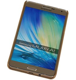 PC Paleis 3D Back Cover for Galaxy A7 Goud