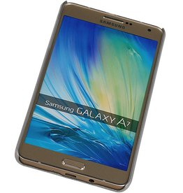 PC Paleis 3D Back Cover for Galaxy A7 Zilver