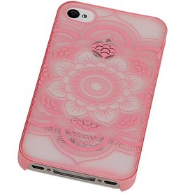 PC Roman Tuo 3D Back Cover for iPhone 4 Pink