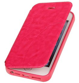 Easy Book Type Case for iPhone 5 / 5S Pink