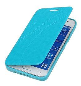 Easy Book type case for Galaxy Core II G355H Turquoise
