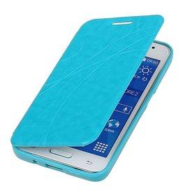 Easy Booktype hoesje voor Galaxy Core II G355H Turquoise