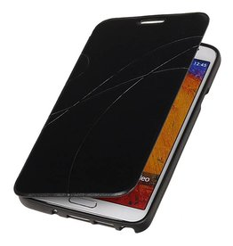 Easy Book type case for Galaxy Note 3 Neo N7505 Black