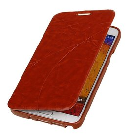Easy Book type case for Galaxy Note 3 Neo Brown