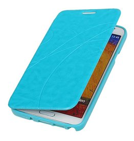 Easy Booktype hoesje voor Galaxy Note 3 Neo N7505 Turquoise
