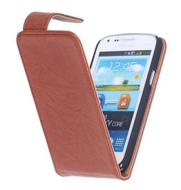 Washed Leather Classic Case for Galaxy S4 i9500 Brown