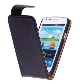 Washed Leather Classic Case for Galaxy S4 i9500 Black
