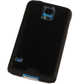Galaxy S4 i9500 Lichte Aluminium Hardcase voor Galaxy S4 i9500 Zwart