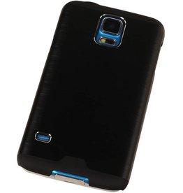 Galaxy Alpha G850F Lichte Aluminium Hardcase voor Galaxy Alpha G850F Zwart