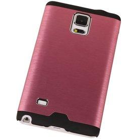Galaxy Note 4 Lichte Aluminium Hardcase voor Galaxy Note 4 Roze