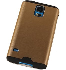 Galaxy A3 Lichte Aluminium Hardcase voor Galaxy A3 Goud