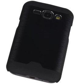 Light Aluminum Hardcase for Galaxy J1 Black