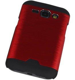 Light Aluminum Hardcase for Galaxy J1 Red