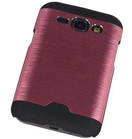 Light Aluminum Hardcase for Galaxy J1 Pink