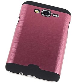 Light Aluminum Hardcase for Galaxy J5 Pink