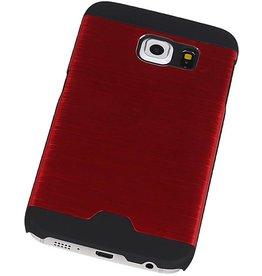 Light Aluminum Hardcase for Galaxy S6 Edge G925F Red