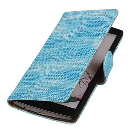 Lizard Bookstyle Cover for LG G4 Turquoise