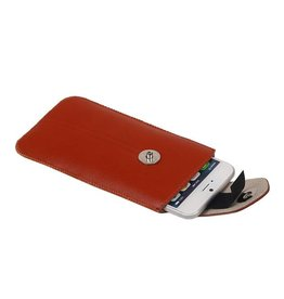 Model 2 Smartphone Pouch for iPhone 6 / S Brown