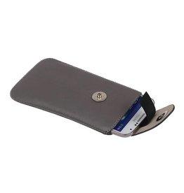 Model 2 Smartphone Pouch Size M (Galaxy S4 i9500) Gray