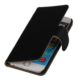 Washed Leather Bookstyle Case for Touch 4 Black