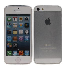 Transparent TPU Hoesje voor iPhone 5 / 5S Ultra-thin