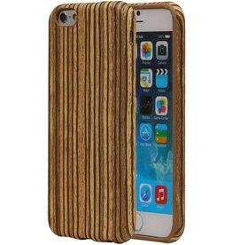 Vertical Stripes Wood Look TPU Cover for Galaxy J1 Beige