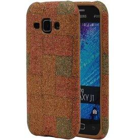 Cork Design TPU Cover for Galaxy J1 J100F Model E