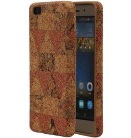 Design TPU Kork Abdeckung für Huawei P8 Zeigte Modell C