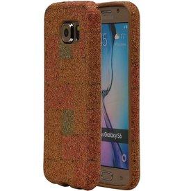 Cork Design TPU Cover for Galaxy S6 G920F Model E