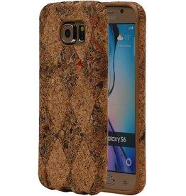 Cork Design TPU Cover for Galaxy S6 G920F Model F