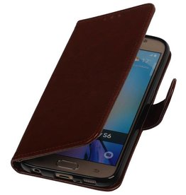 TPU Bookstyle Cover for Galaxy A3 (2016) A310F Brown