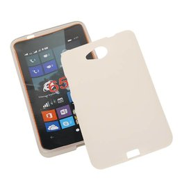 TPU Case for Microsoft Lumia 650 with packaging White