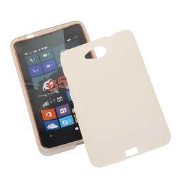 TPU Hoesje voor Microsoft Lumia 650 met verpakking Wit