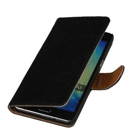 Washed Leather Bookstyle Case for iPhone 6 Black