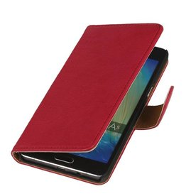 Washed Leather Bookstyle Case for iPhone 6 Pink
