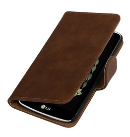 Bark Bookstyle Cover for LG K5 Gray