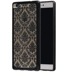 TPU Palace 3D Back Cover for Honor 8 Black