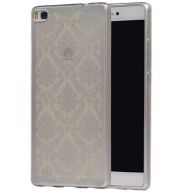 TPU Palace 3D Back Cover for Honor 8 Silver