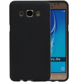 Sand Look TPU Case for Galaxy J5 2016 J510F Black