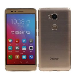Transparent TPU Case for Huawei Honor 5X Ultra-thin