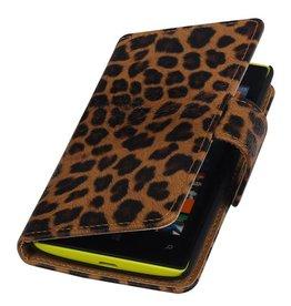 Chita Bookstyle Case for Nokia Lumia 525 Brown