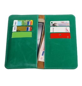 Pull Up Wallet Size L Green