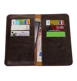 Pull Up Wallet Size L Mocca