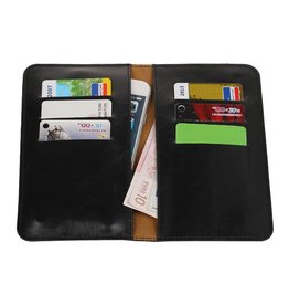 Pull Up Wallet Size M Black