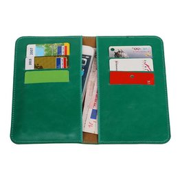 Pull Up Wallet Size M Green