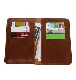 Pull Up Wallet Size M Brown