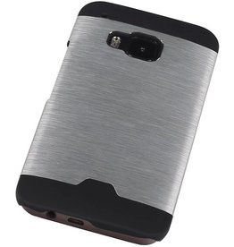 Light Aluminum Hardcase for HTC One M9 Silver